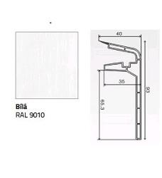Krycí soklová lišta bílá 2 m    FT510