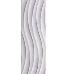Milano soft grey wave obklad 25x75