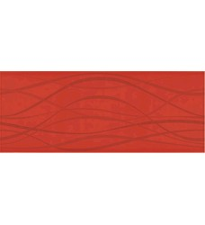 Colorgloss Rojo/vlna  dekor     20x50