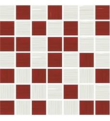 Funny burdeos mix    mozaika   20x20