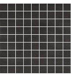 QZ lappato nera      mozaika   30x30