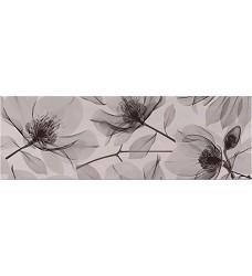 Dolsa flower negro   dekor     25x75