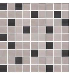 Dolsa negro mix A    mozaika   25x25