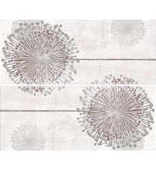Modern wall flower   set 2     2x25x60
