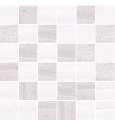 Oriente blanco-gris  mozaika   30x30