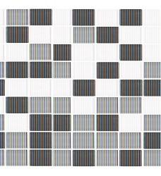 Rainbow rojo B  sklo mozaika   25x25