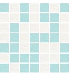 Bloom mozaika aqua mix 20x20