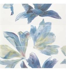 Bloom aqua/lime set dekor 3ksx28x85