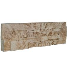 Kámen lámaný-béžovohnědý   roh 21x10,7