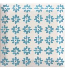 Rodari Blue dekor     obklad  9.8x9.8