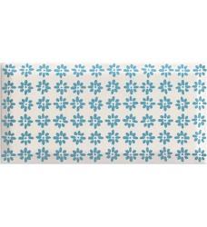 Rodari Blue dekor     obklad 19.8x9.8